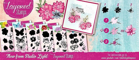 Studio Light Layered Stamps