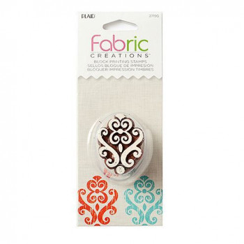 Fabric Creations™ Stempel, Small Baroque Flourish