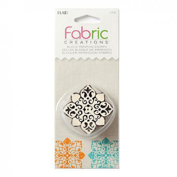 Fabric Creations™ Stempel, Small Baroque Floral