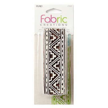 Fabric Creations™ Stempel, Bordüre Tribal 1, ca. 9,2 x 3,1 cm