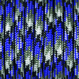 Paracord, Farbmix, 4 mm x 50 m, lila
