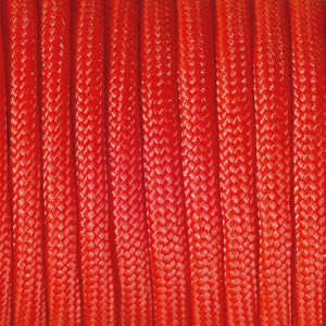 Paracord, 2 mm x 50 m, rot