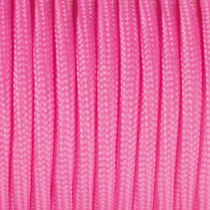 Paracord, 2 mm x 50 m, pink