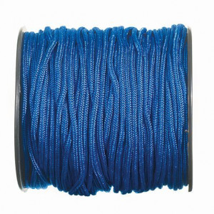 Paracord, 2 mm x 50 m, blau