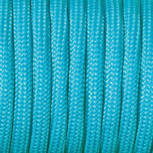 Paracord, 2 mm x 50 m, türkis