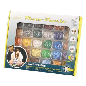 Photo Pearls ® Starter Set, ca.d= 5 x H 5 mm, 7.500 Stück