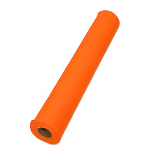 Filzrolle, 45 x 500 cm x ca.1,0 mm, 100% Viskose, ca.145g/m², orange