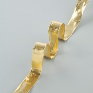 Drahtband Gold, 25 mm, gold, 25 m