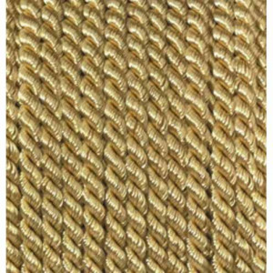 Kordel-Viscose, 4 mm, 25 m, goldfarbig