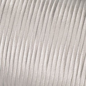 Kordel-Satin, 2 mm, 50 m, weiss