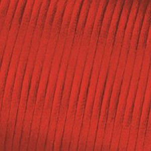 Kordel-Satin, 2 mm, 50 m, rot