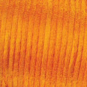 Flechtkordel Satin, 2 mm / 6 m, orange