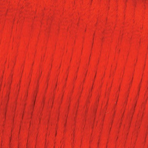 Flechtkordel Satin, 2 mm / 6 m, rot