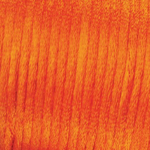 Flechtkordel Satin, 1.0 mm, 50 m, orange