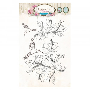 Stempel Clear, Romantic Summer, A6 / 105 x 148 mm, 3 - teilig, transparent 145