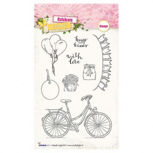 Stempel Clear, Celebrate Spring, A6 / 105 x 148 mm, 8 - teilig, transparent 173