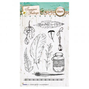 Stempel Clear, Summer Feelings, A6 / 105 x 148 mm, 10 - teilig, transparent 189