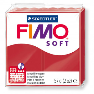 Fimo ® Soft 57g, christmas red