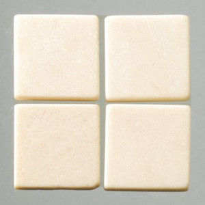 MosaixPur-Echtstein, 10 x 10 x 4 mm, 1.000 g ca. 1050 Stck creme
