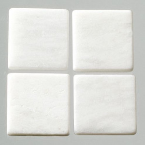 MosaixPur-Echtstein, 10 x 10 x 4 mm, 200 g ca. 205 Stck weiss Marmor