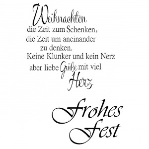 Stempel Clear, Frohes Fest, A7, 2 - teilig, transparent