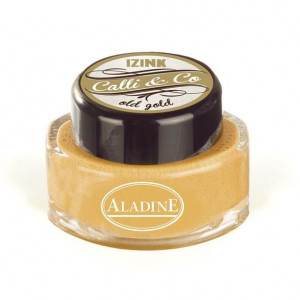 IZINK Calli & Co, Calligraphie Tinte, 15 ml, old gold