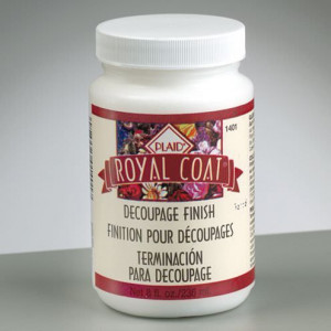 Royal Coat Decoupage Finish, säurefrei, 236 ml, klar