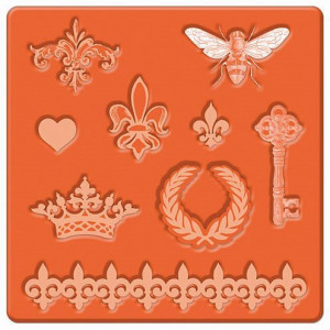 Mod Podge, Mod Mold Royal Icons, 95 x 95 mm 9 Designs