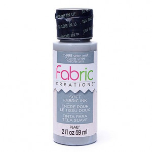 Fabric Creations™ Stempelfarbe, 59 ml, grey mist