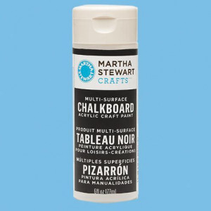 Martha Stewart Special Effects, Tafelmalfarbe Acryl, 177 ml, schwarz