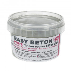 Easy Beton Paste, 350 g, zementgrau