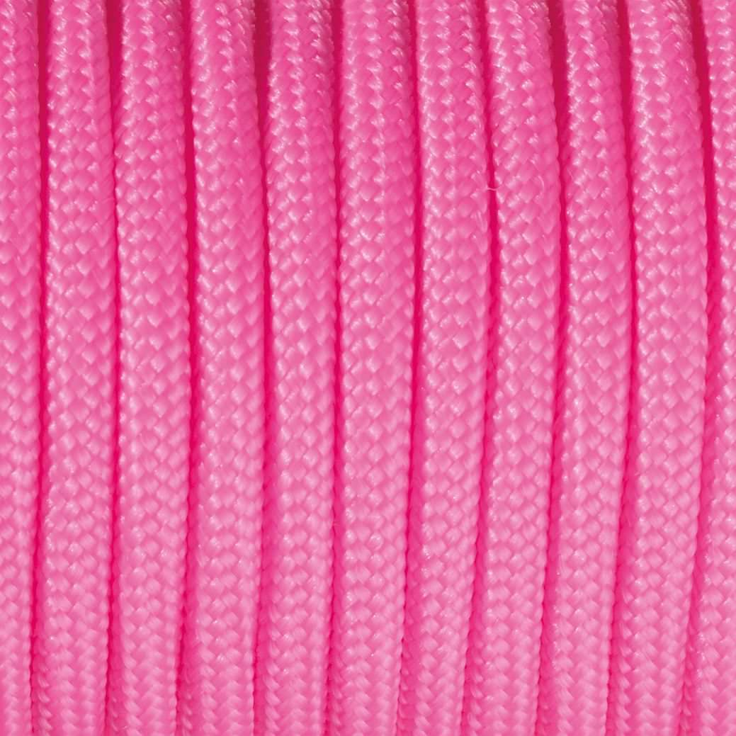 Paracord, 4 mm x 50 m, pink
