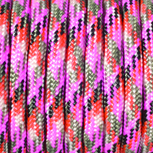 Paracord, Farbmix, 4 mm x 50 m, pflaume