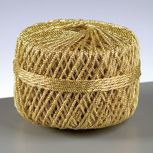 Cordonnet, 2 mm, 10 m, gold