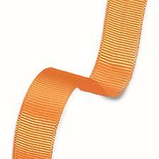 Dekoband Rips, 15 mm, orange, 20 m