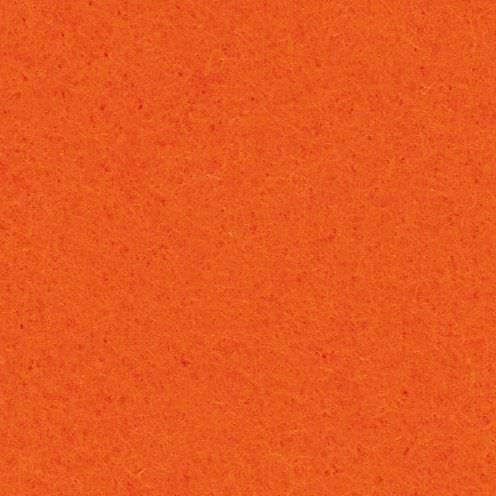 Filzplatte, 100% Polyester, 30 x 45 cm x 2.0 mm, 350 g/m², orange