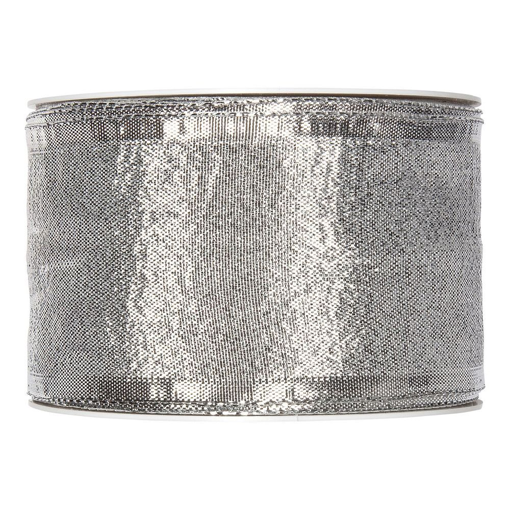 Drahtband Lamee, 25 mm, 25 m, silber
