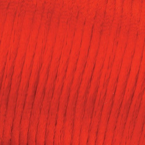Flechtkordel Satin, 1.0 mm, 50 m, rot