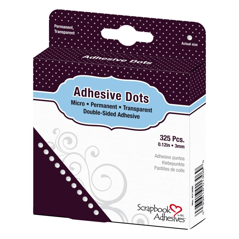 Adhesive Dots, permanent Punkte, 3 mm 325 Stk.