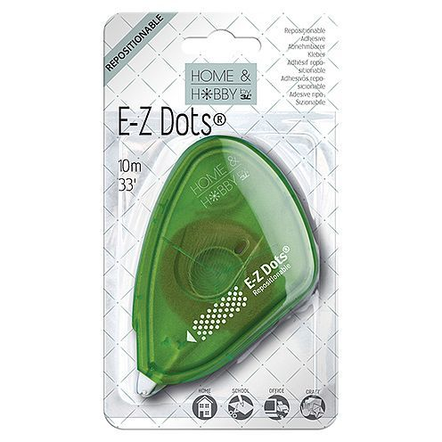 Home & Hobby by 3L, E-Z Dots® Abnehmbar, 9 mm x 10 m