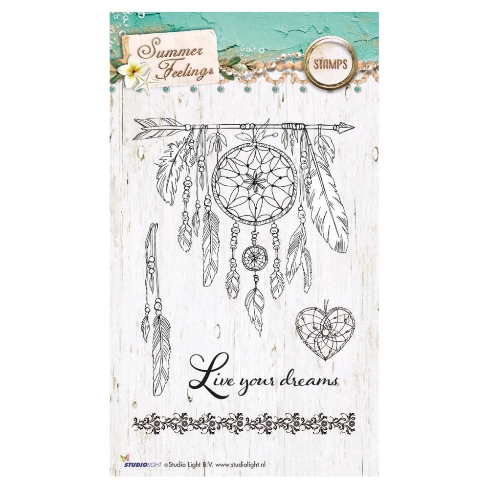 Stempel Clear, Summer Feelings, A6 / 105 x 148 mm, 5 - teilig, transparent 188