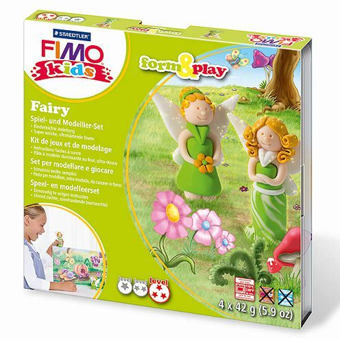 Fimo® Kids form & play, Fairy, 7 - teilig