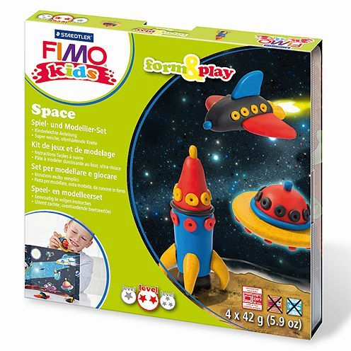 Fimo® Kids form & play, Space, 7 - teilig