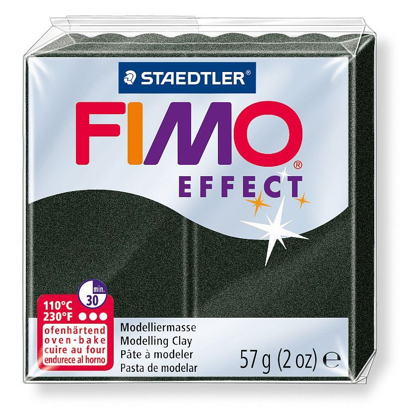 Fimo® Effect, 57g, pearl black