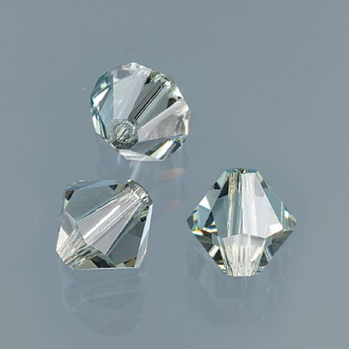 Swarovski Facettperle, 4 mm, 25 Stück black diamond