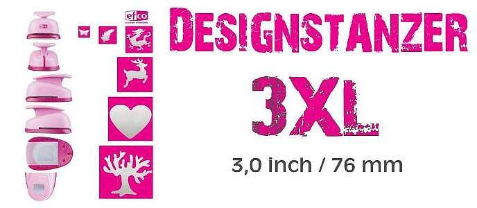 Designstanzer 3XL - 3,0 inch / 76 mm