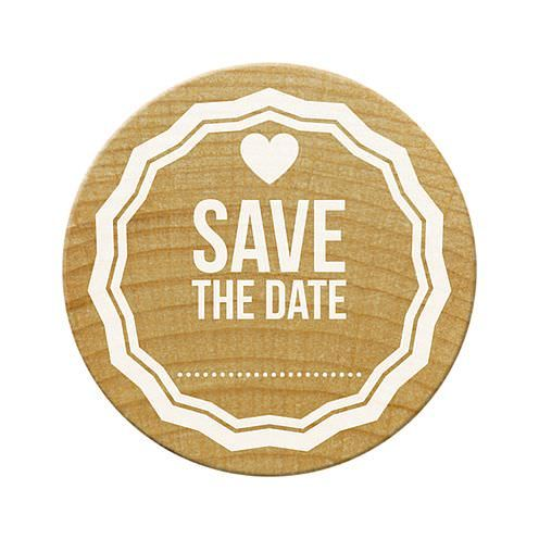 Woodies Stempel, Save the Date 1, ø¸ 30 mm