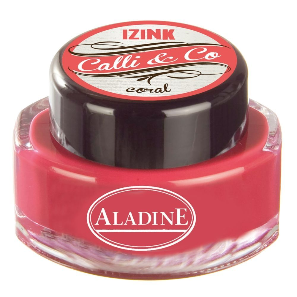 IZINK Calli & Co, Calligraphie Tinte, 15 ml, coral