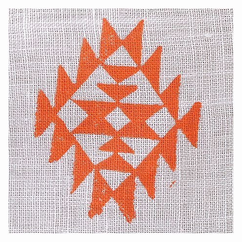 Fabric Creations™ Stempel, Small Aztec Tile