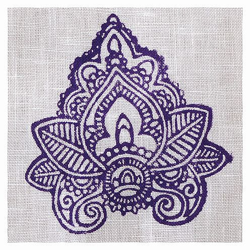 Fabric Creations™ Stempel, Medium Indian Leaf